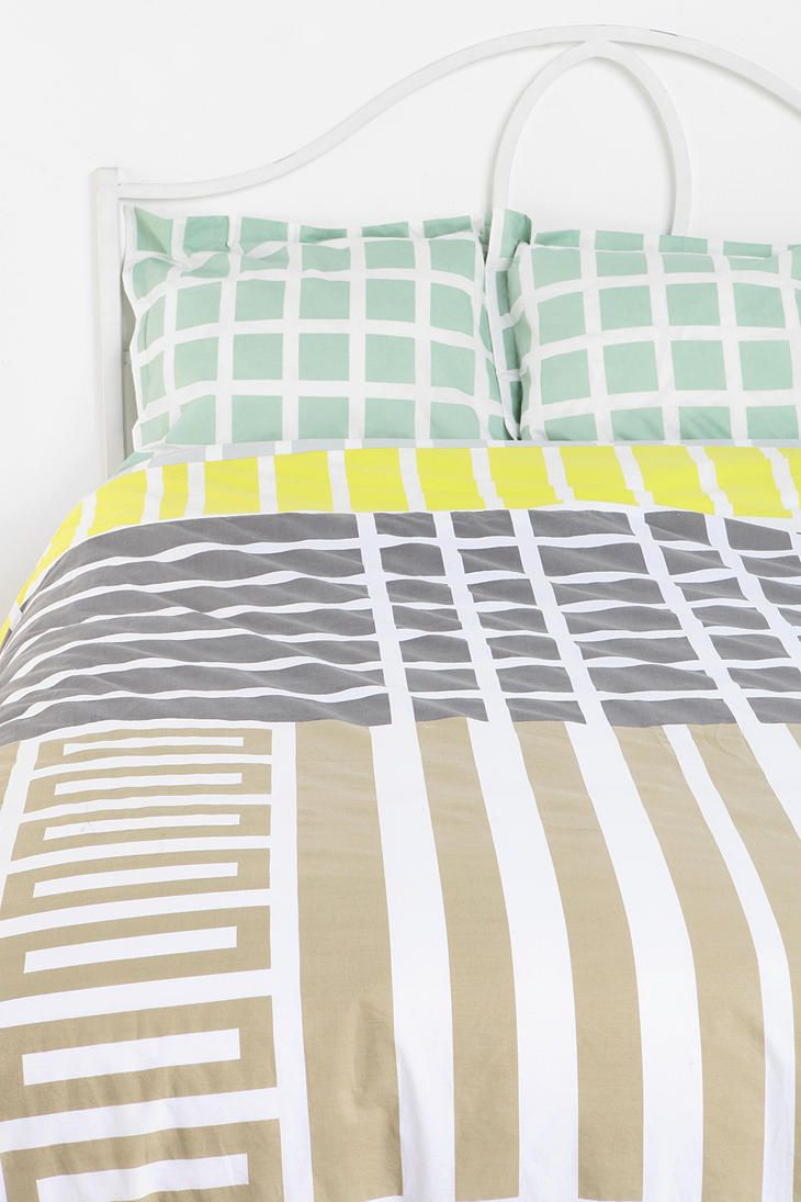 and it all matches! Assembly Home Labyrinth Sham - Set Of 2  #UrbanOutfitters