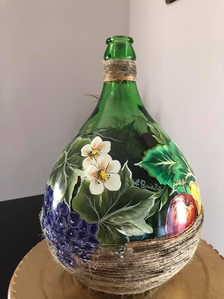 Kitchen crafts: glass and wood decoupage ideas | Crafts