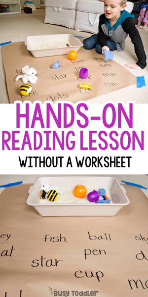 Matching Objects To Words Reading Activity Lecture En