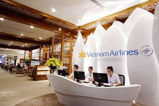 Phòng chờ Bông Sen tại sân bay Nội Bài