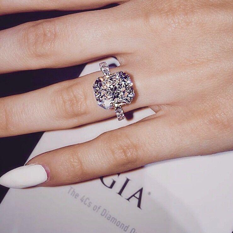 Choosing Crystal Jewelry Springs Large Wedding Rings