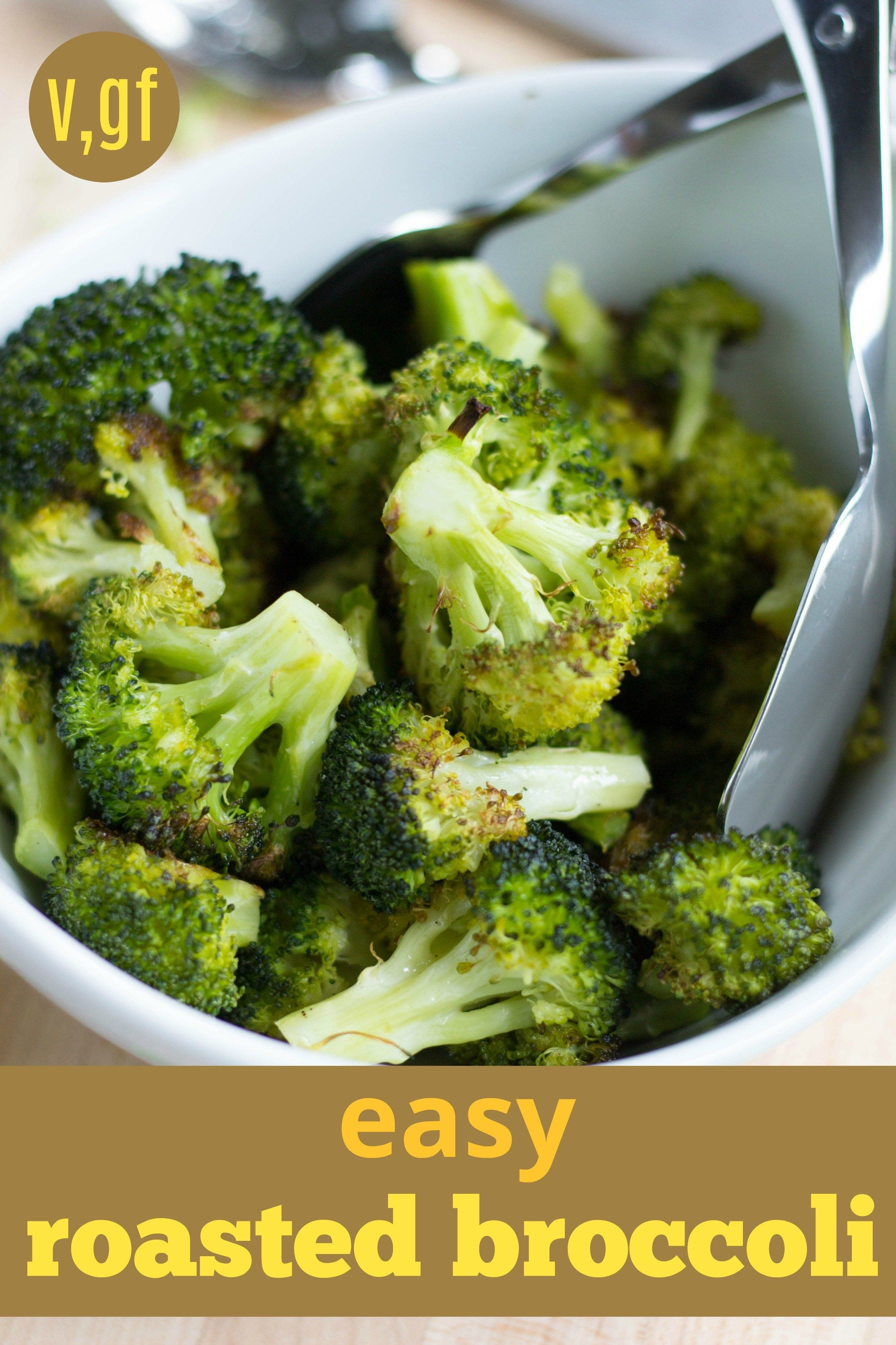 Easy Roasted Broccoli Vegan