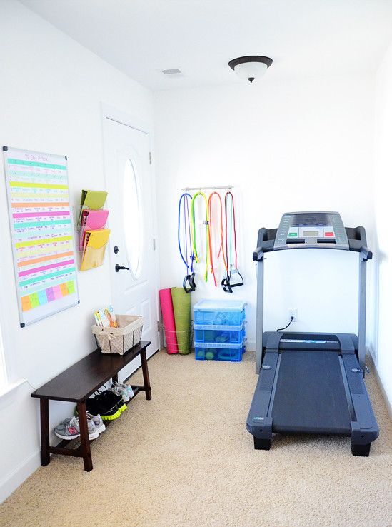 Best Small Home Gym Ideas for Tiny Spaces House and Home