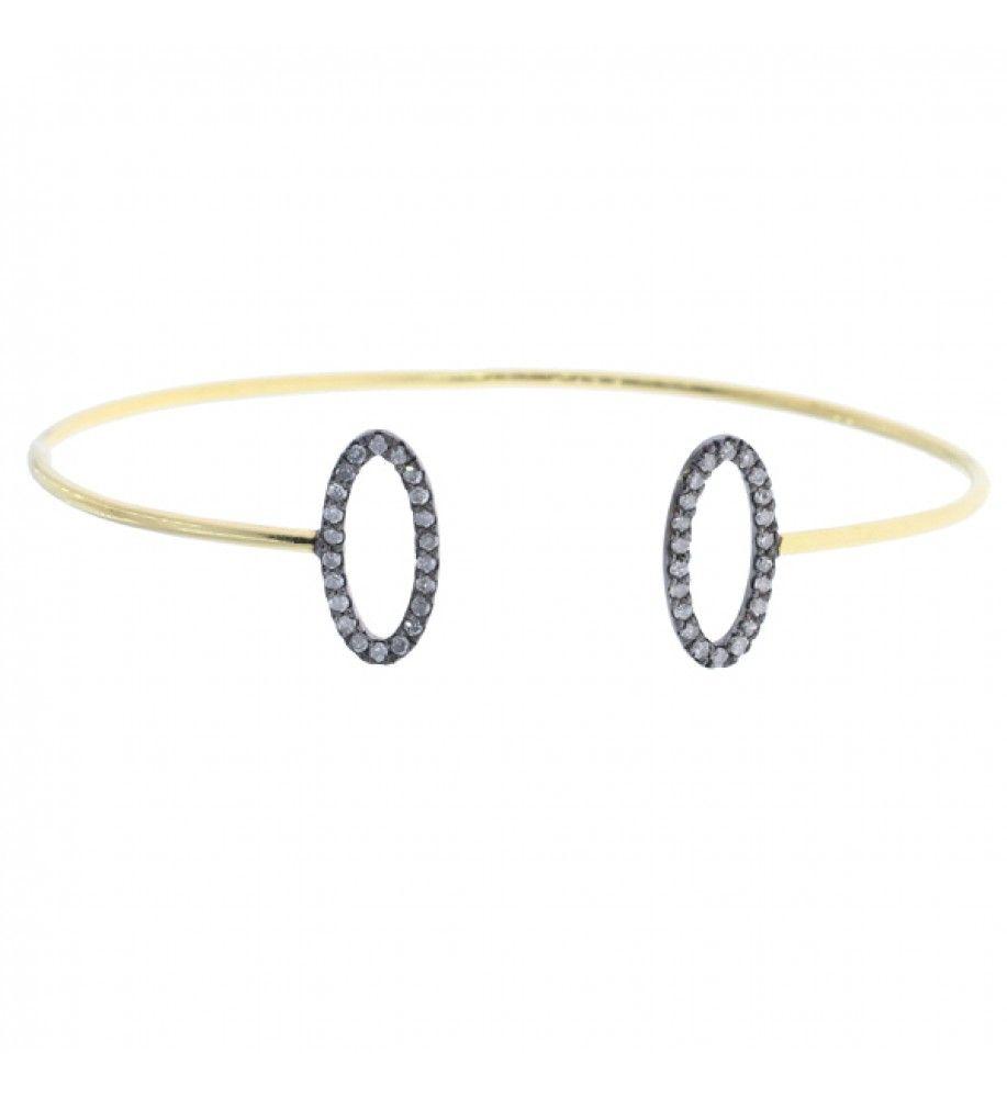 Beautiful and stylish #Gold #Bracelet cum #bangle adjustable in ...