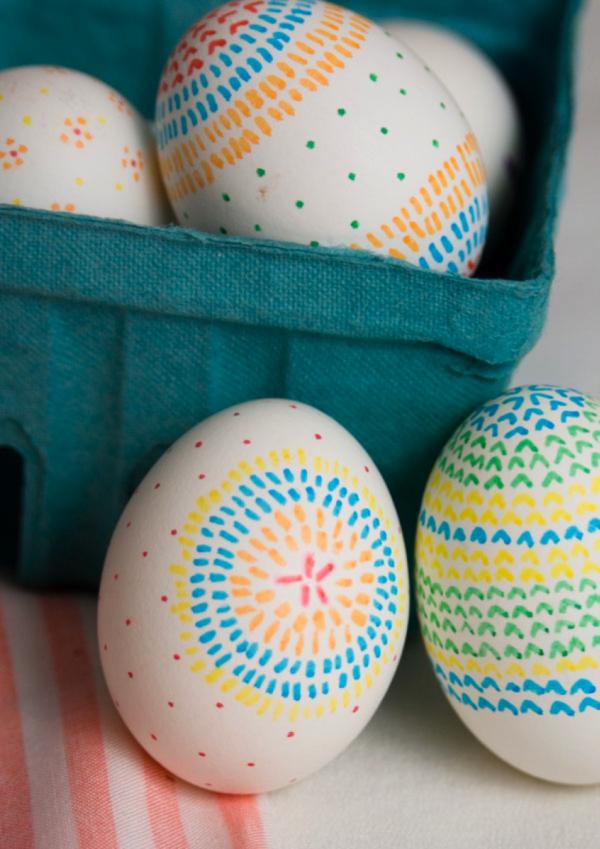 10 Manualidades De Pascua Sharpie Ideas Easter Egg Designs