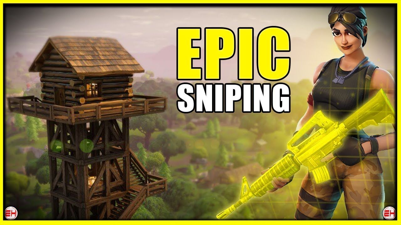EPIC SNIPING Fortnite Battle Royale Gameplay! (w/ Tips
