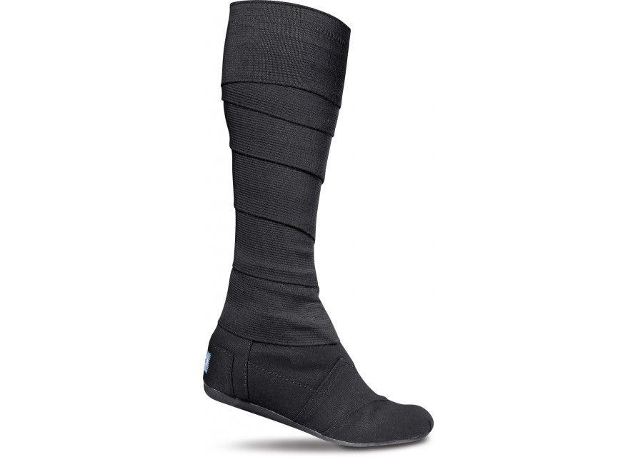 Toms Deutschland Schwarz Vegan Frauen Wrap Stiefel Schuhe