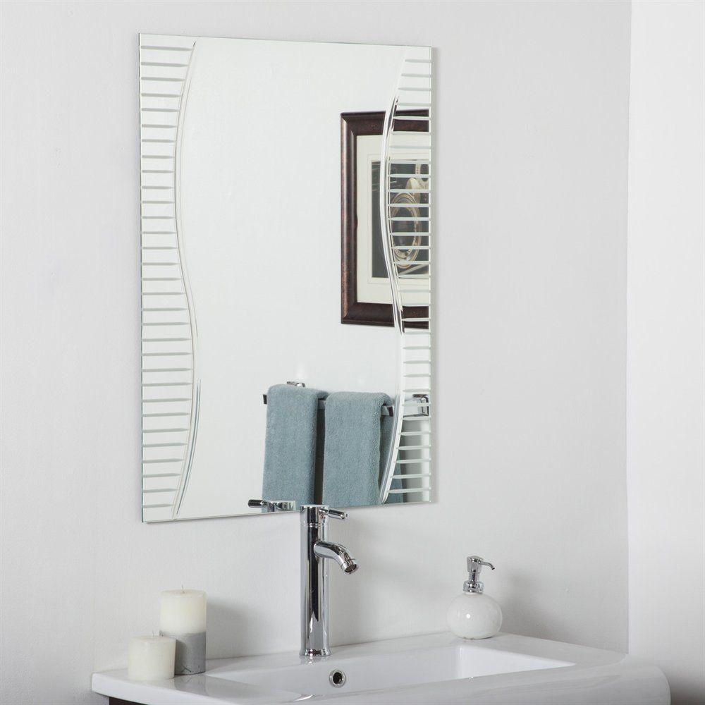 Decor Wonderland SSM1111 Ava Modern Bathroom Mirror | Lowe\'s Canada ...
