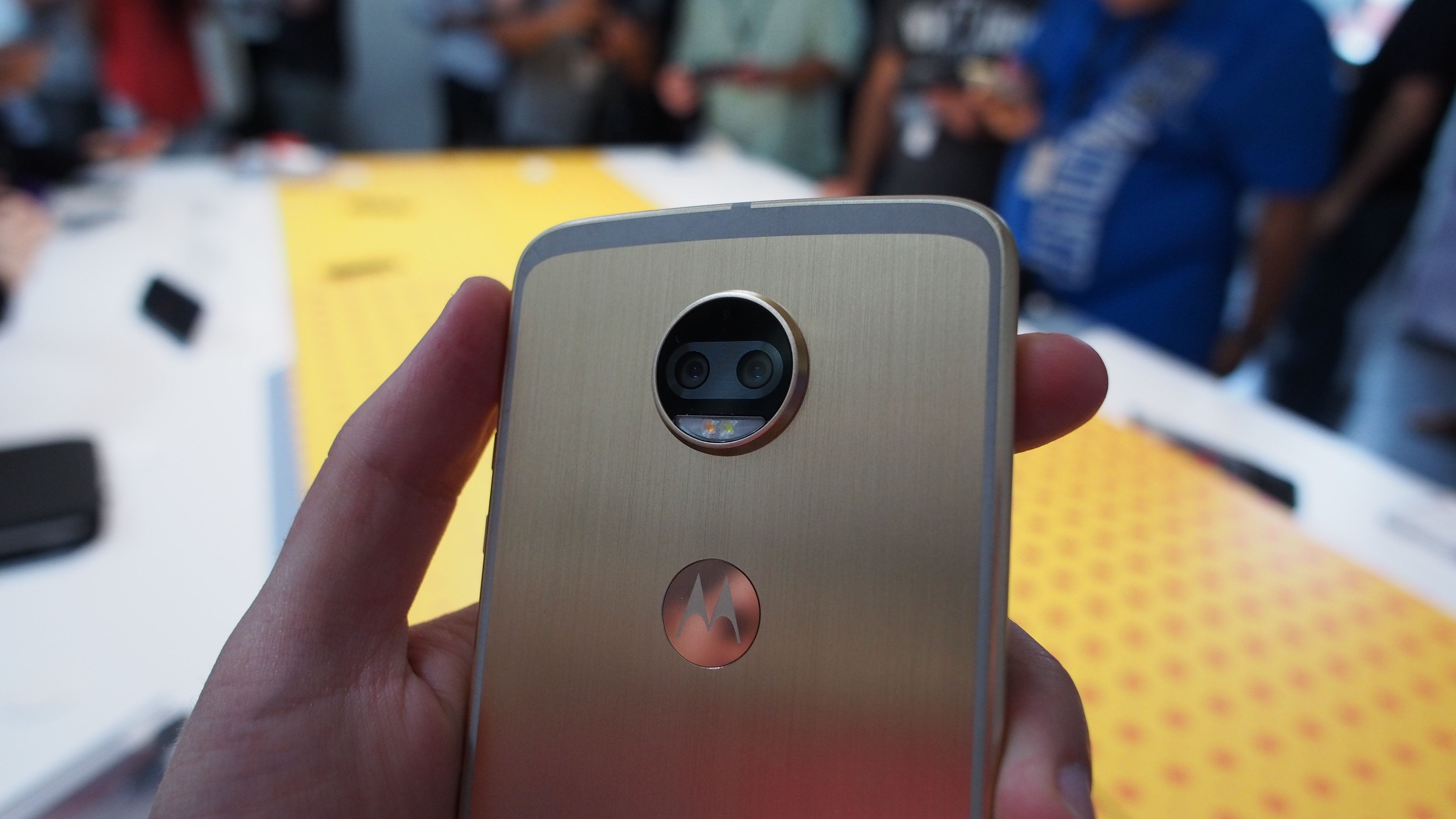 a8c418b186 The Moto Z2 Force is the most powerful modular Android phone ever ...