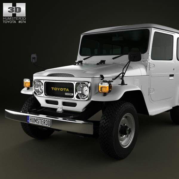 Toyota Land Cruiser (J40) Hard Top 1979