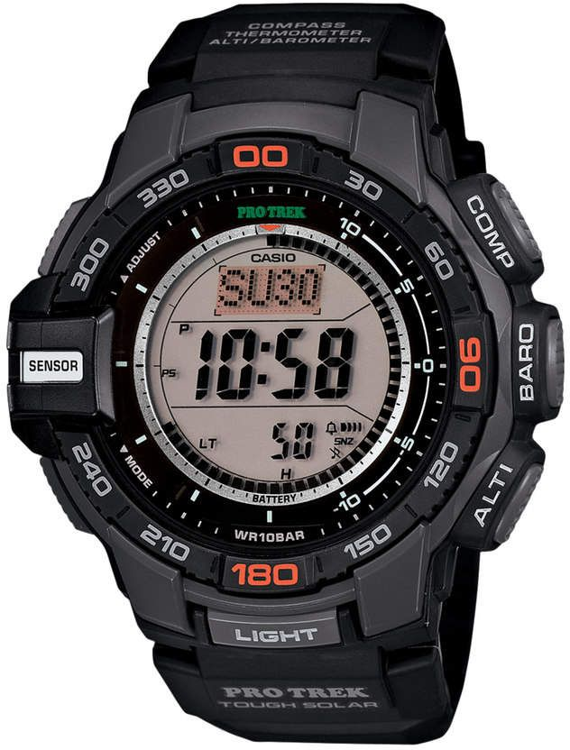 Casio Men's PRO TREK Solar Digital Chronograph Watch | Casio  3kAX1