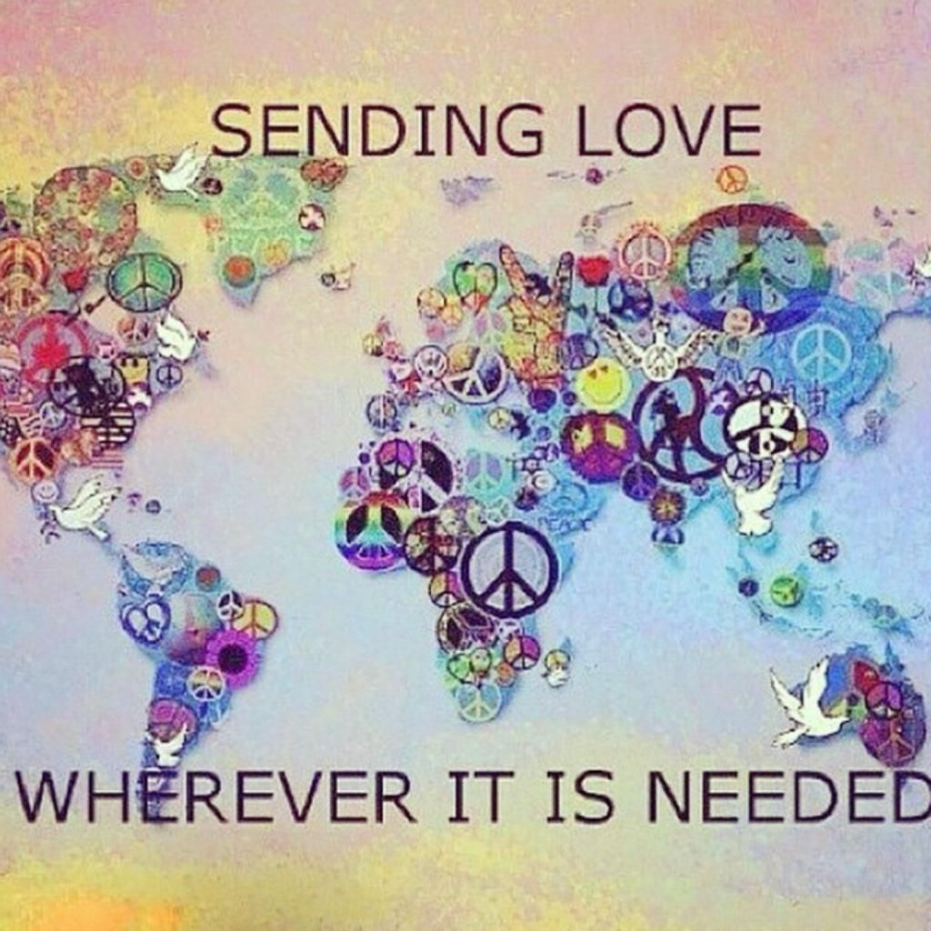 Rt Enjoyslowtime I Declare World Peace Idwp Peace And Love
