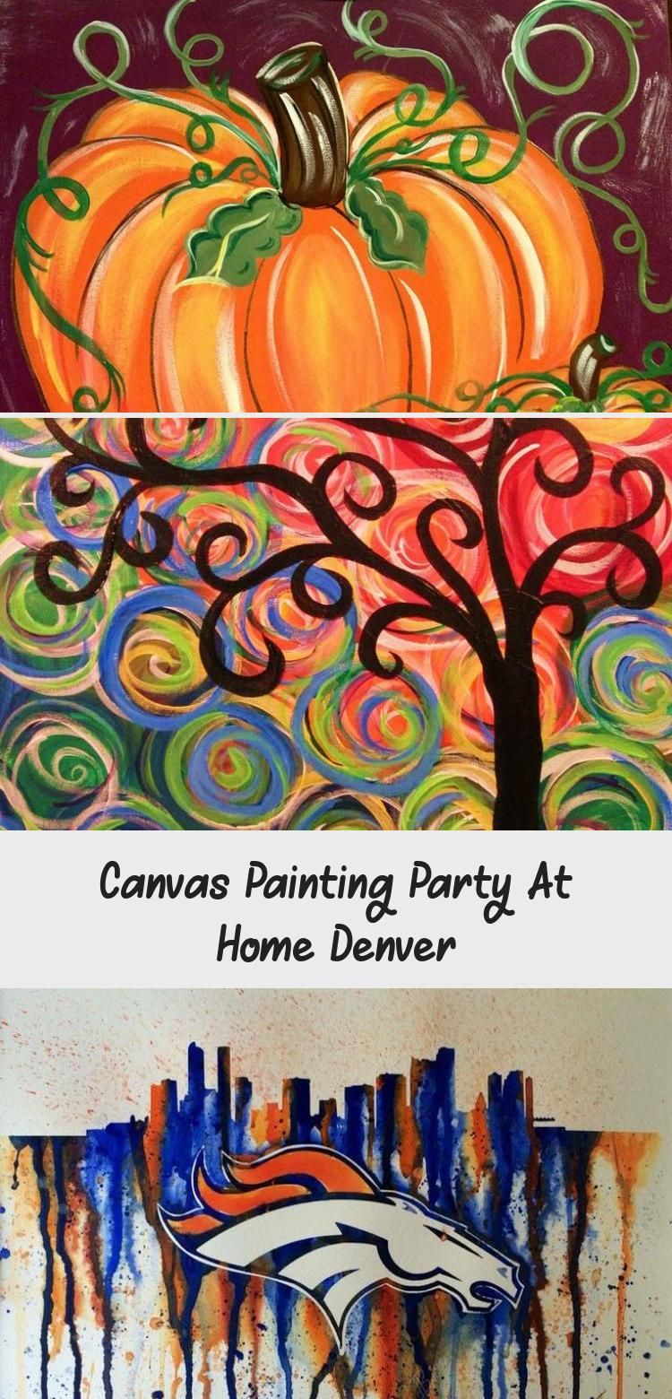 diy sip and paint canvas
