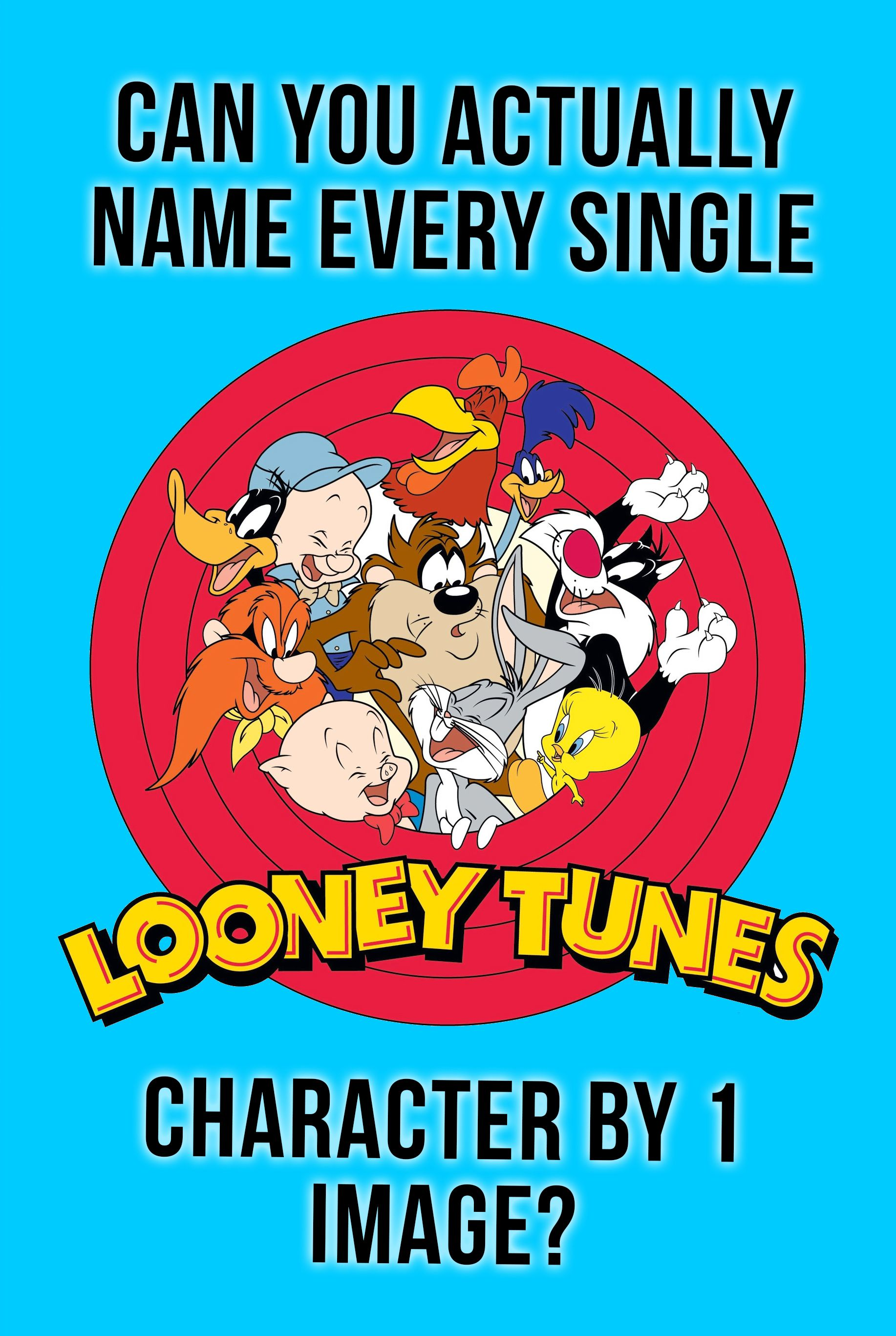 Quiz Can You Actually Name Every Single Looney Tunes