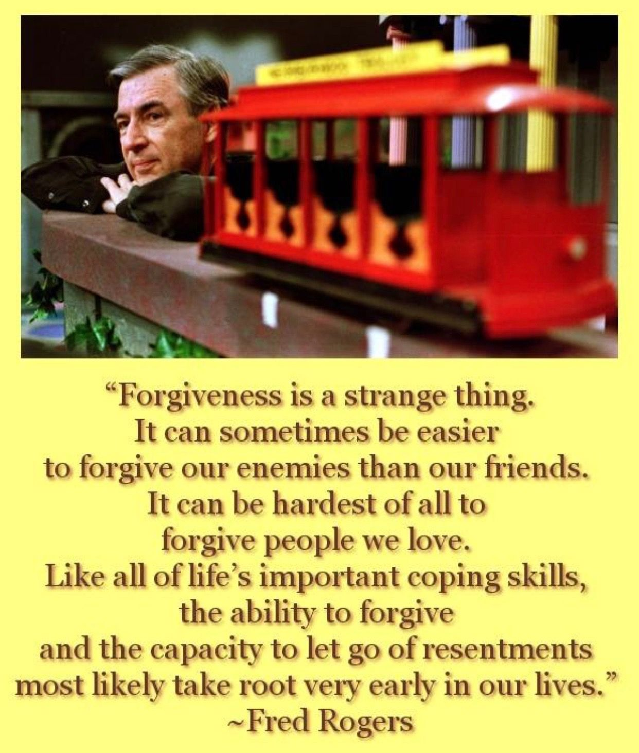 Forgiveness Fred Rodgers Mr Rogers Quote How To Memorize Things Mr Rogers