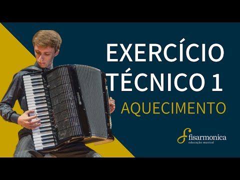 Exercício Técnico 1 (Aquecimento) para Iniciantes   Aula de Acordeon #01 - YouTube