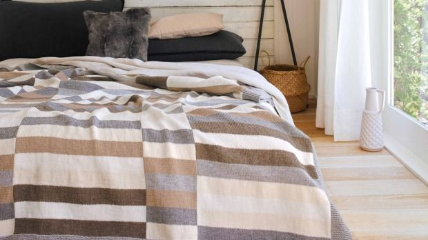 How To Knit Your Own Bedcover With This Free Pattern Afghan