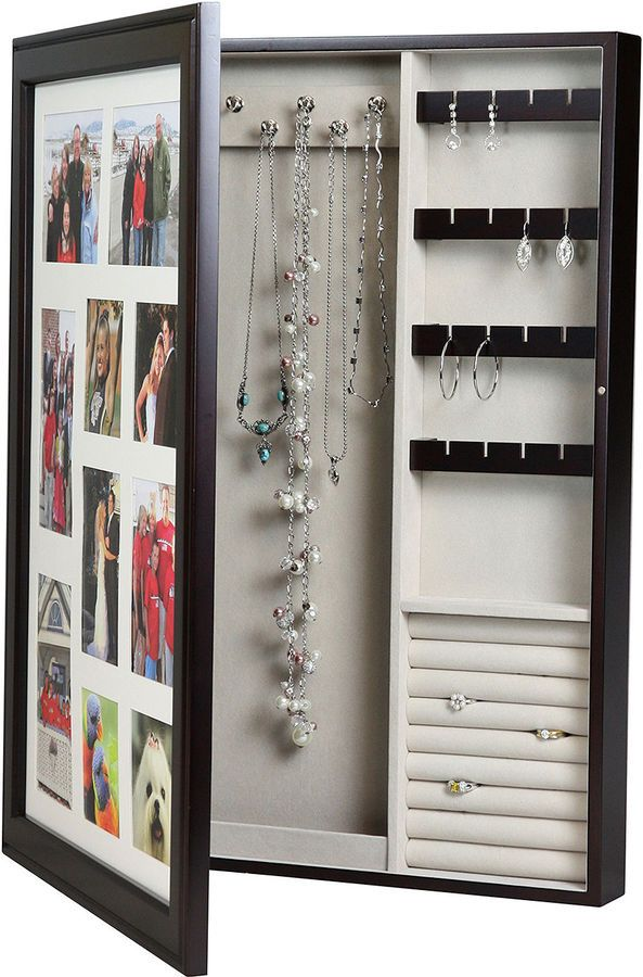Asstd National Brand Java Wall Photo Frame Jewelry Box Beautifully