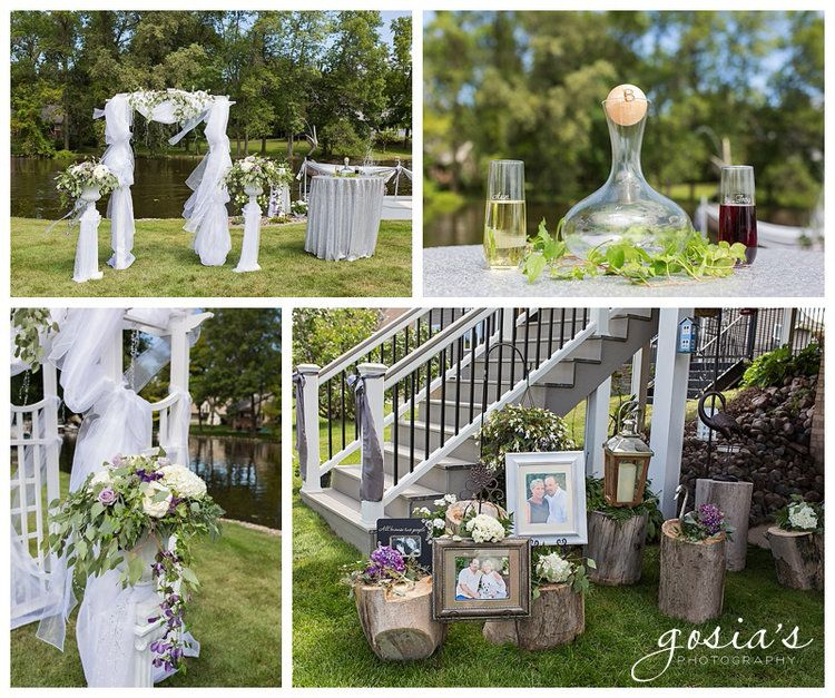 SUAMICO RIVER OUTDOOR CEREMONY AND ROCK