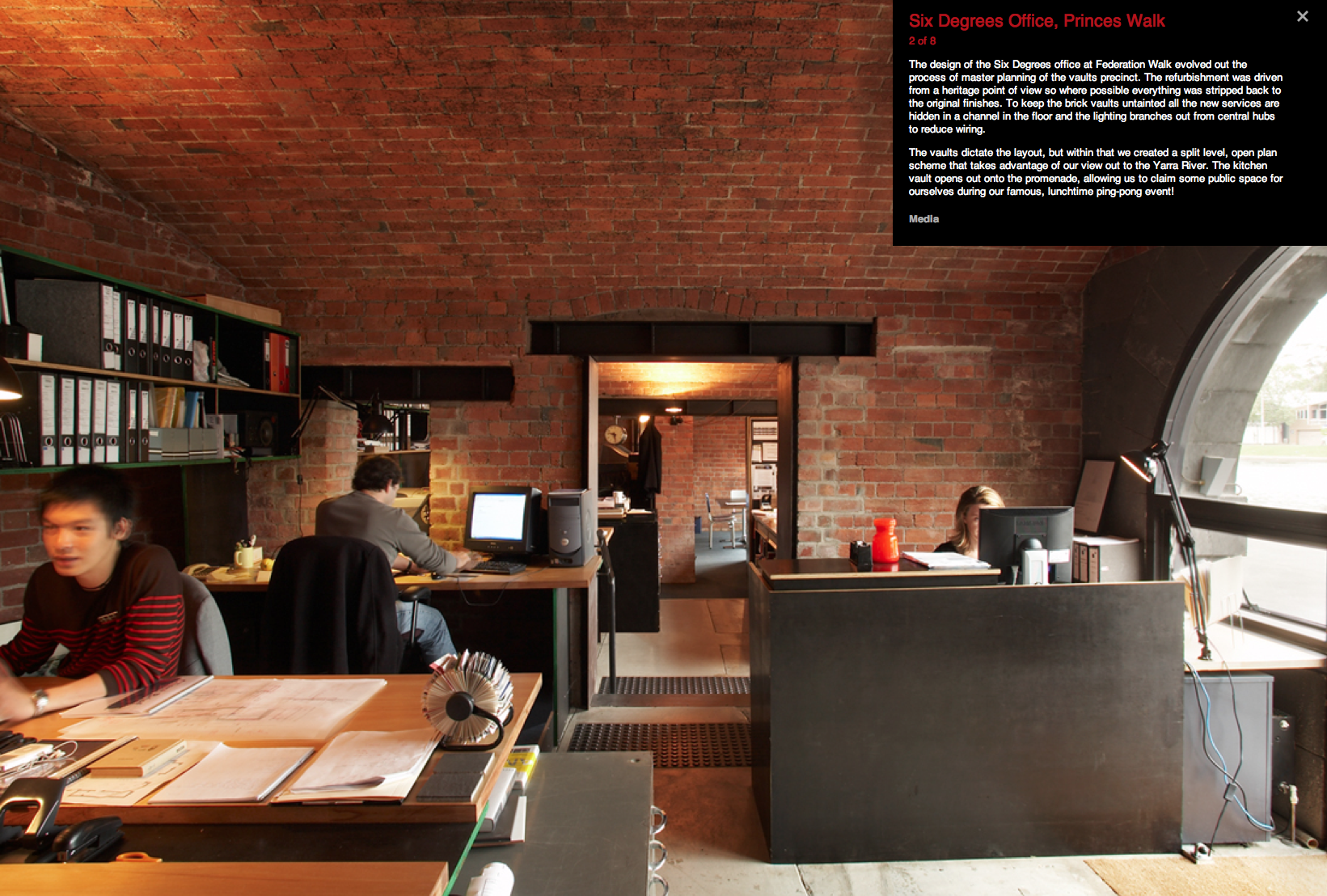 office space great. Six Degrees Architects Office Space Great Brick Big Lintels Wwwsixdegrees