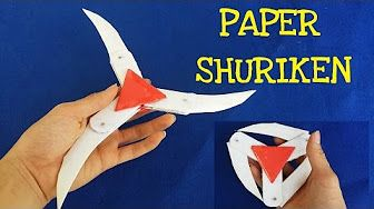 How To Make Paper Transforming Ninja Star | Easy Origami Lucky ... | 188x336