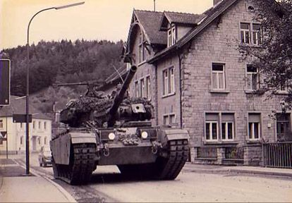 Tank In The Streets Canadian Army Army History October Crisis