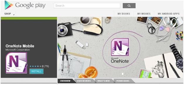 How to Access OneNote on an Android Device