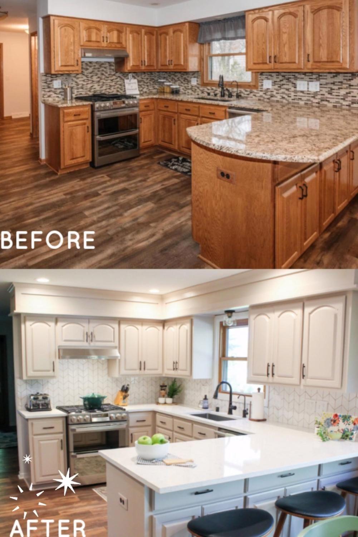 My DIY Kitchen Makeover Reveal!