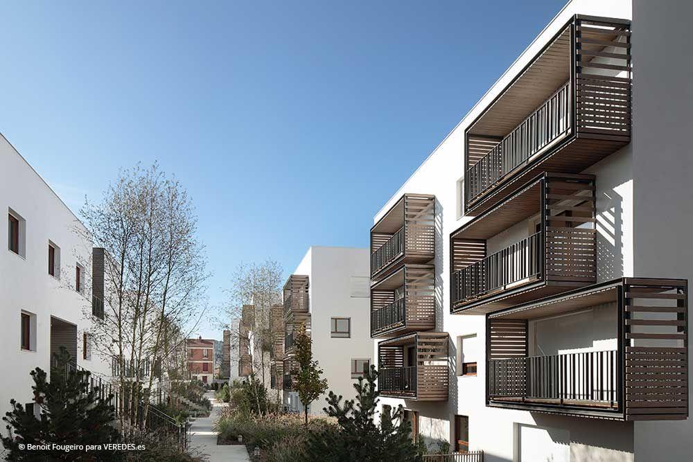 eco quartier carnot verollot i en ivry sur seine architecture. Black Bedroom Furniture Sets. Home Design Ideas