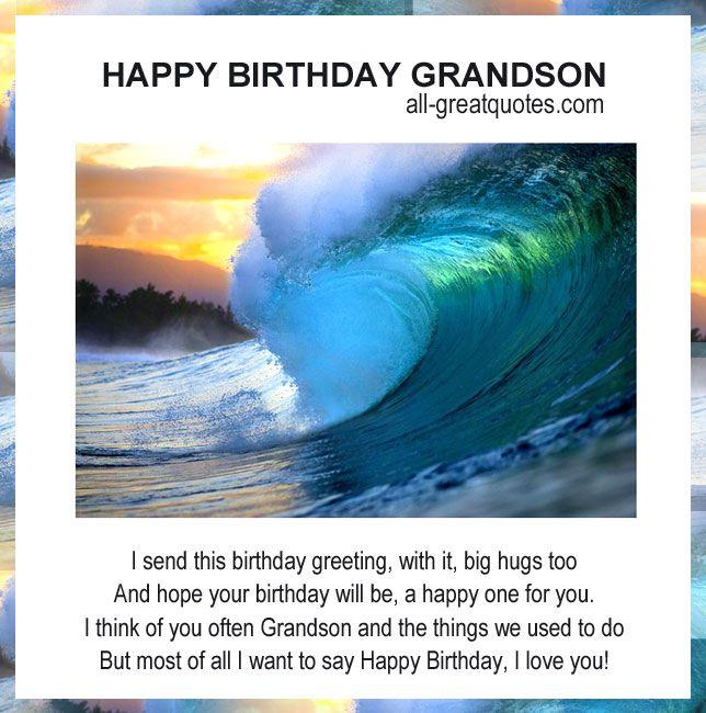 Share Original Free Birthday Cards For Grandson Birthday Cards Grandson Birthday Wishes Happy Birthday Grandson Free Happy Birthday Cards