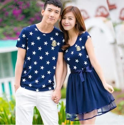 83016b3f Find More T-Shirts Information about 2016 summer couple t shirt matching  couple summer outfits