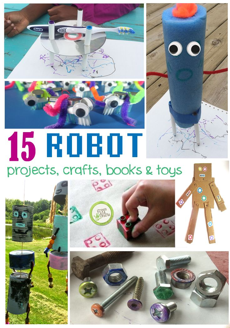 Discover More Robots Green Projects For Kids Pinterest Green