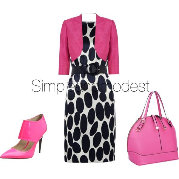 Bright Day Bright Pink | Printed shift dress, Clothes design