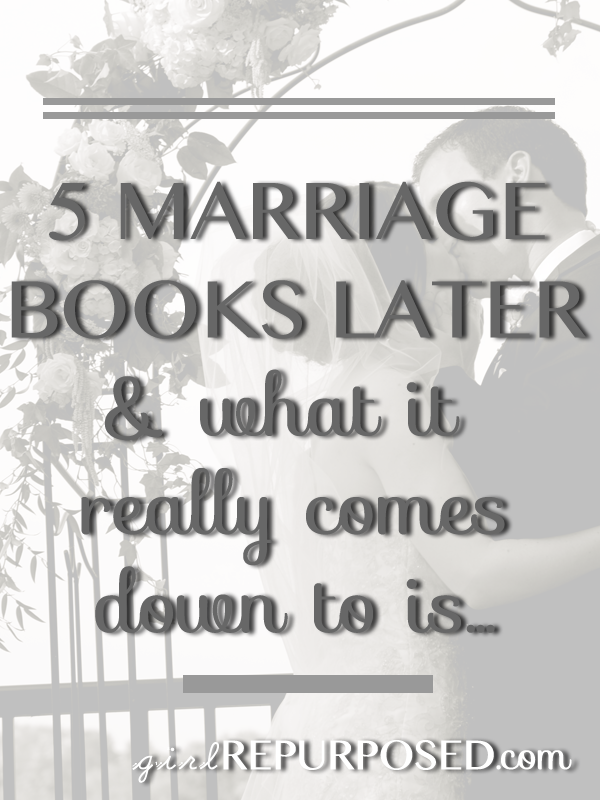 5 Christian marriage books later and what it really comes