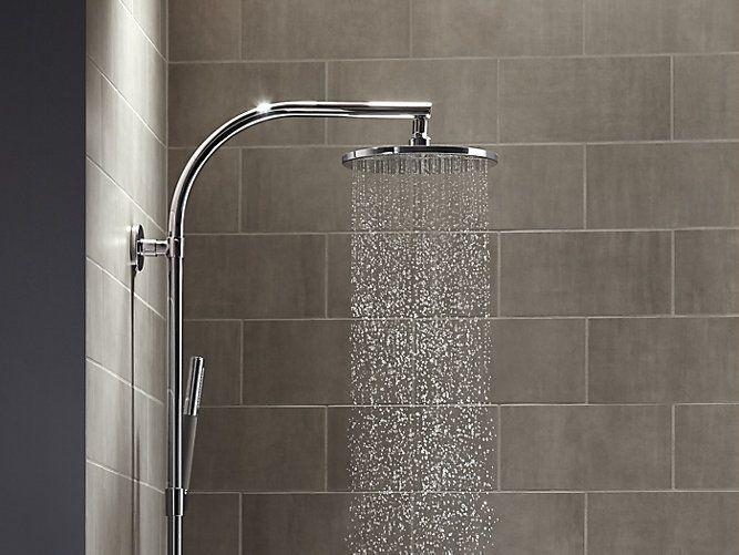 Contemporary Round From Kohler Shop Kohler At Waterware Showrooms Kohler Rainshower Shower Heads Kohler Shower Heads Rain Shower Head