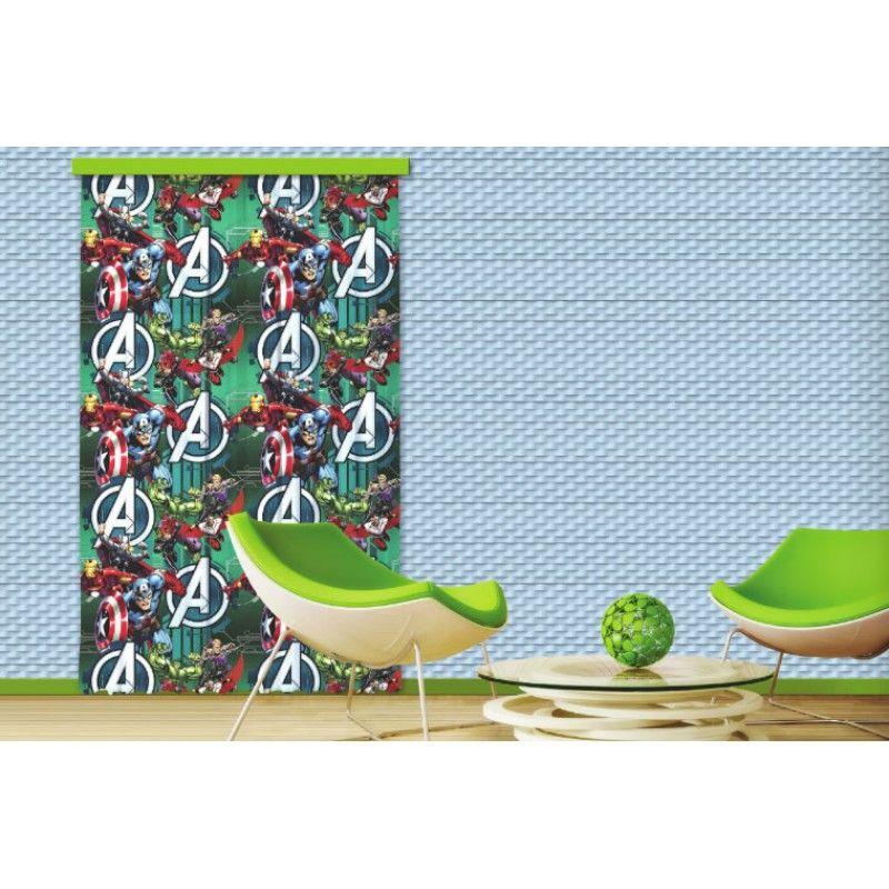Bosszúállók, mintás dekor függöny #függöny #lakástextil #lakberendezés #gyerekszoba #bosszúállók #szuperhősök
