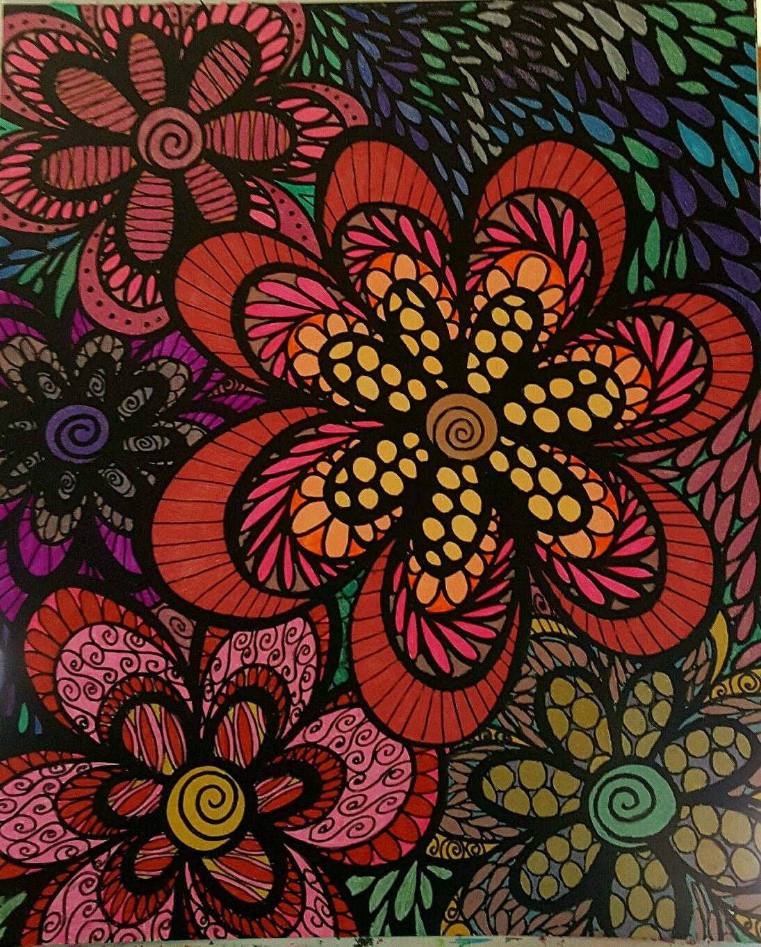 ColorIt Colorful Flowers Volume 1 Colorist: Diane Cole ...