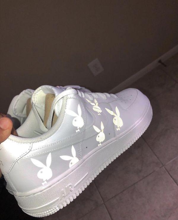 Holographic Lightning Air Force 1 Custom   Buty nike, Nike i