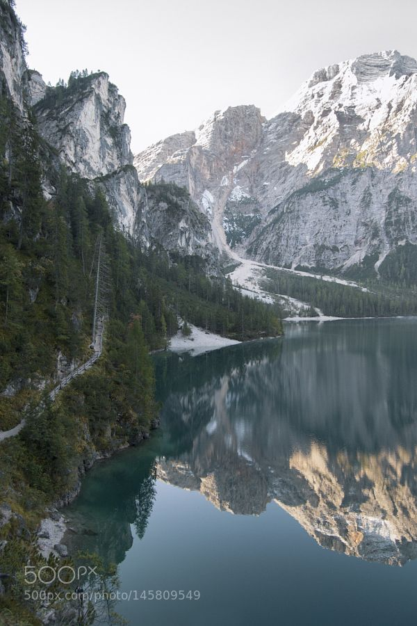 Lake Braies and the Dolomiti, Italy by andrycurious