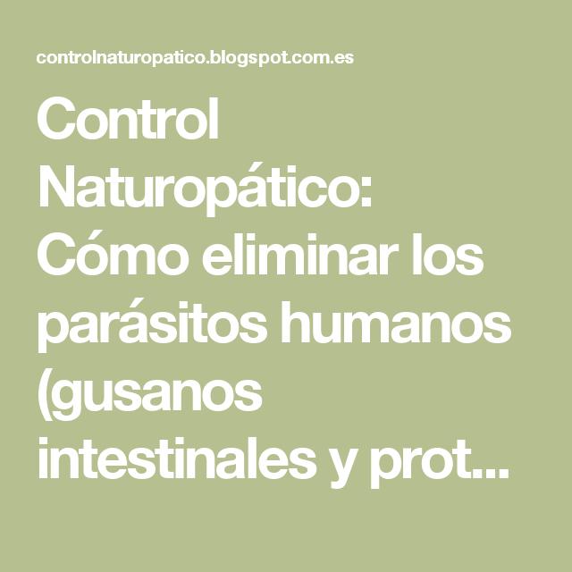 parasitos comunes en los humanos
