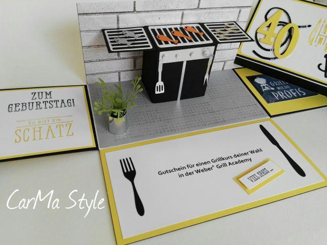 explosionsbox f r einen grillkurs carma style explosionsbox explosionsbox grill geschenk. Black Bedroom Furniture Sets. Home Design Ideas