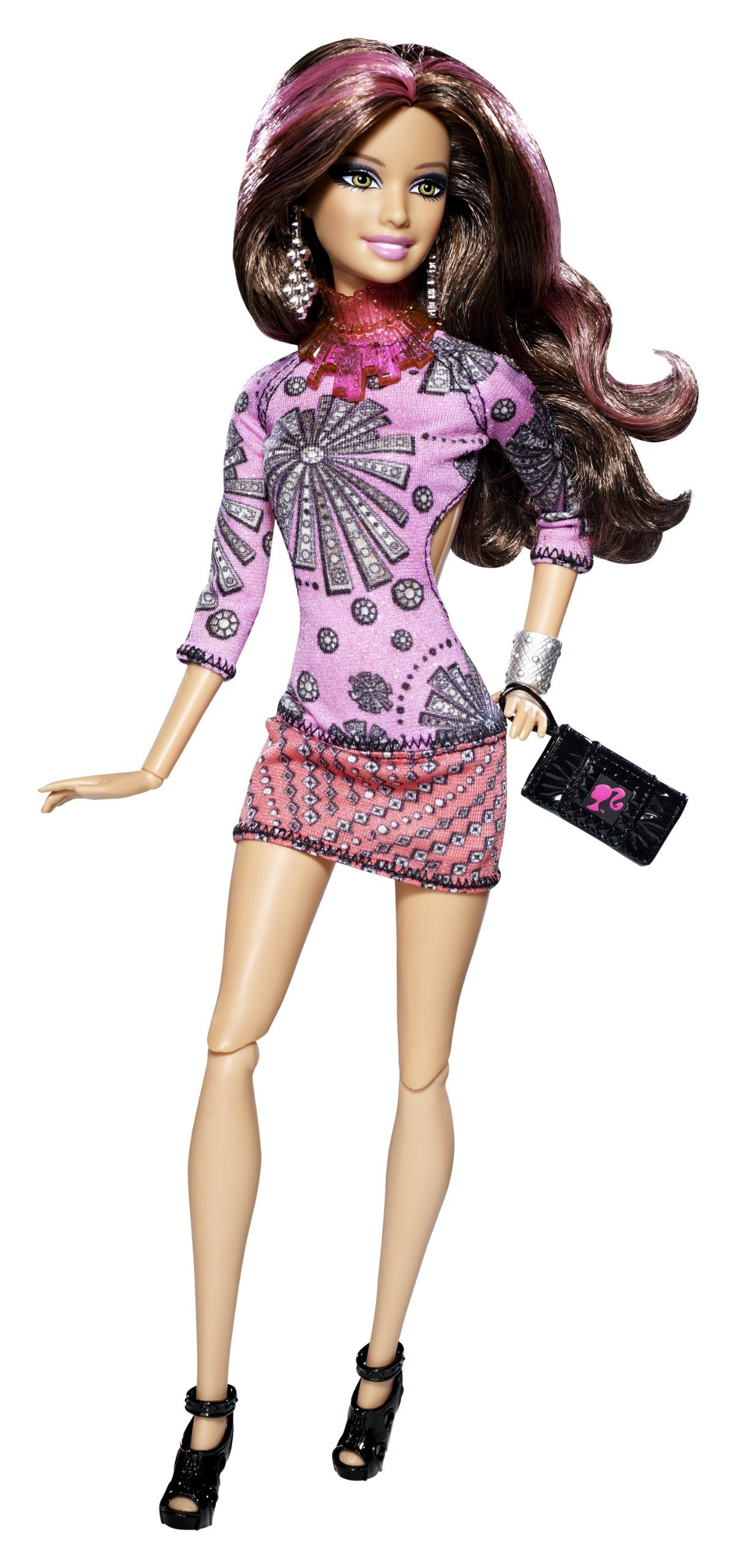BArbie Fashionistas Swappin' Styles Sassy Doll - 2011 ...