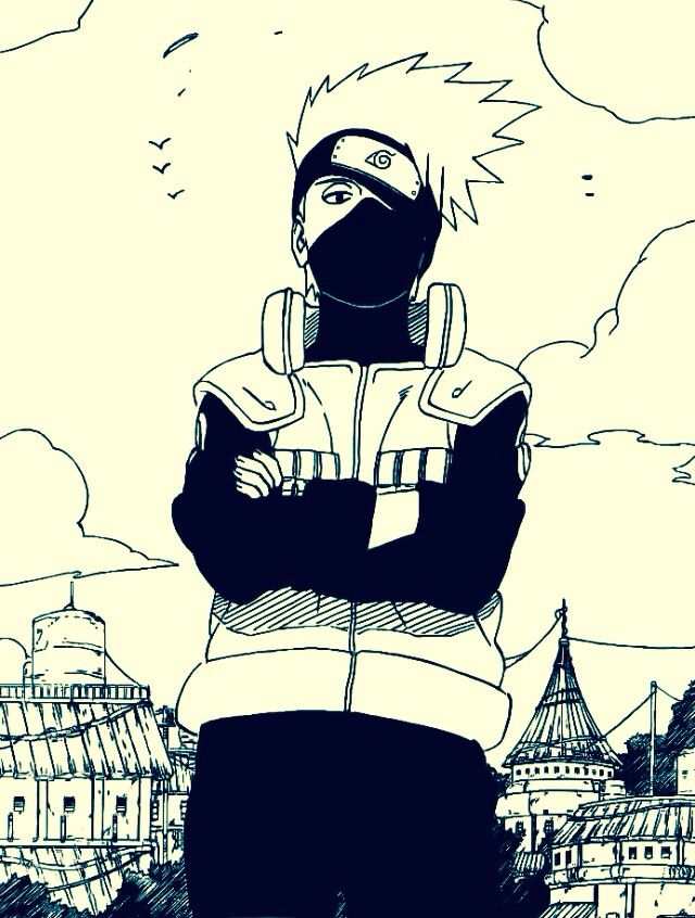 Day 3 favorite male anime character of all time kakashi - Croquis naruto ...