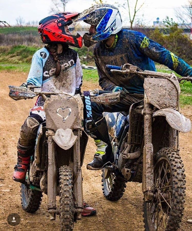 Definitely Me And My Love Motocross Love Motocross Couple Bike