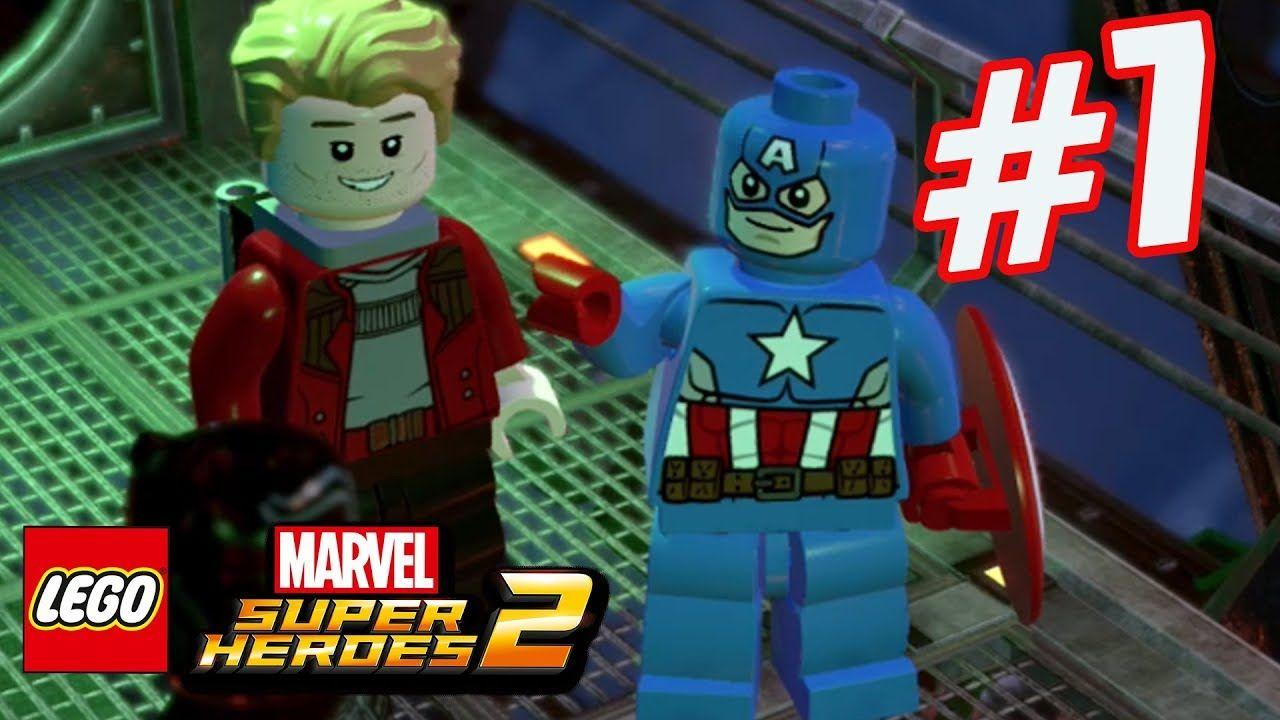 LEGO Marvel Superheroes 2 - Part 7 - Hunting Vibranium! (HD Gameplay