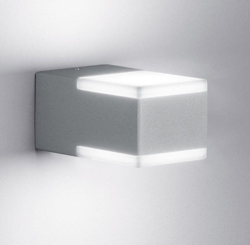 Applique extérieure Don grise LED éclairage extérieur
