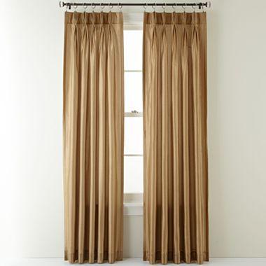 Royal Velvet 174 Encore Pinch Pleat Curtain Panel Pair