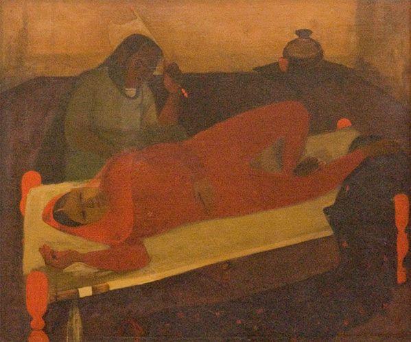 Famous Interior Paintings: Amrita Shergill Famous Paintings