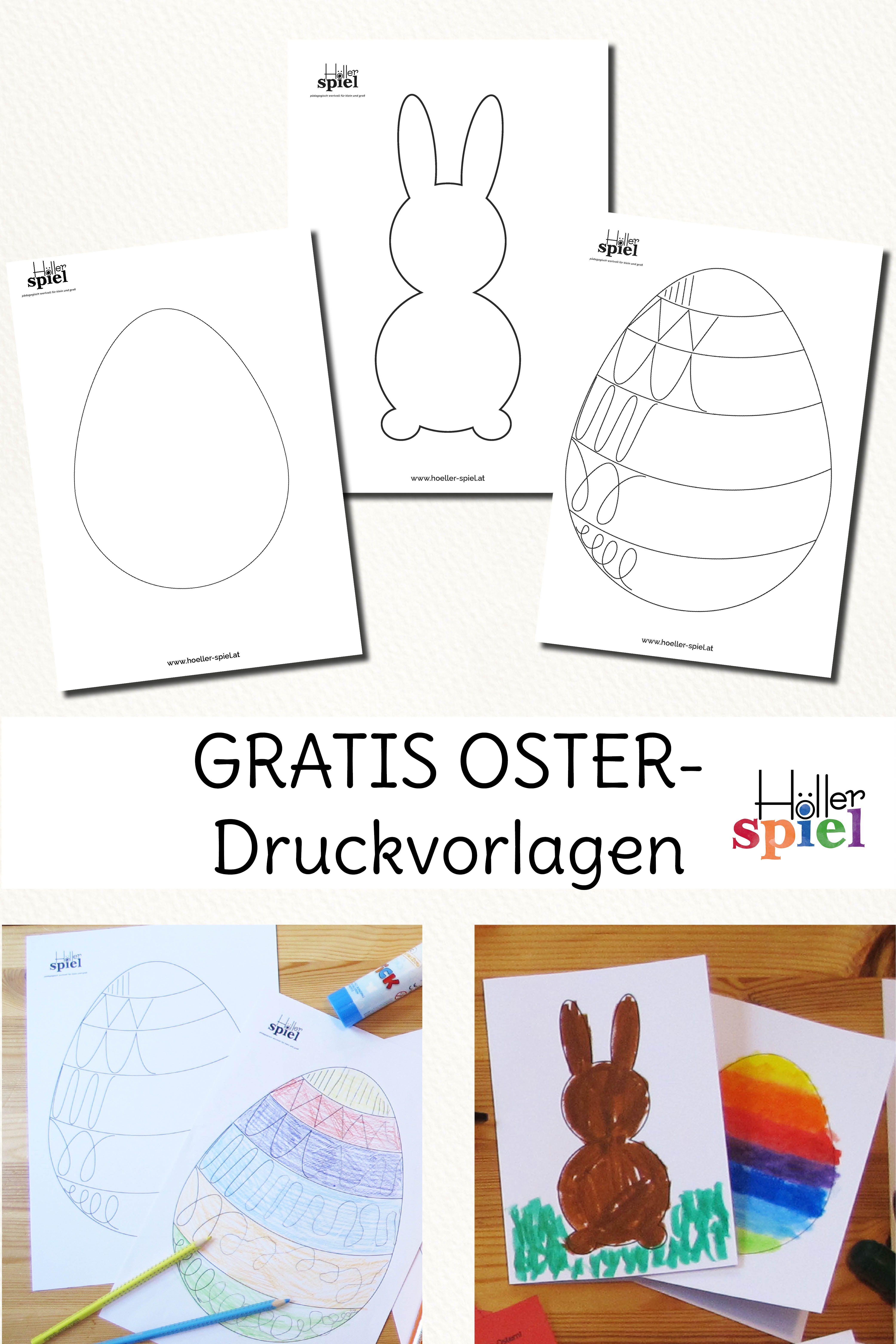 Osterkarten Basteln Anleitung Mit Vorlagen 10