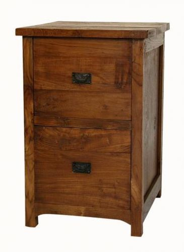 Wooden Duck Short File Cabinet